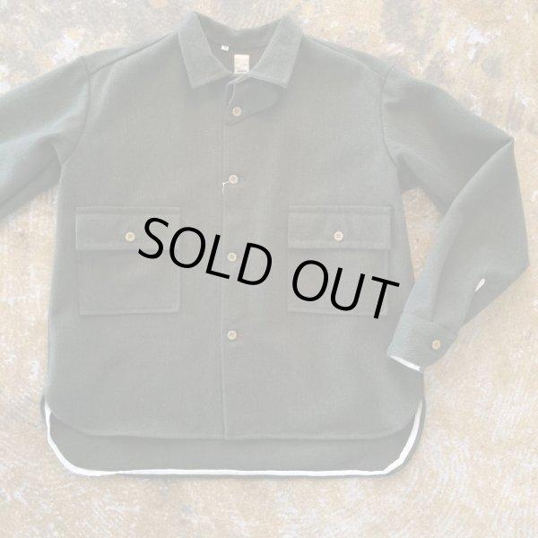 画像1: Tatamize(タタミゼ)    CPOシャツジャケット     Oliveカラー (1)