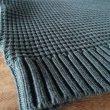 画像4: Island knit works(アイランドニットワークス) waffle knit shirt  militarygreenカラー (4)