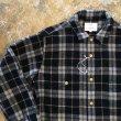 画像1: another 20th century  Artwork shirt Wool check   #84 (1)
