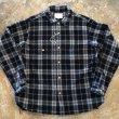 画像2: another 20th century  Artwork shirt Wool check   #84 (2)