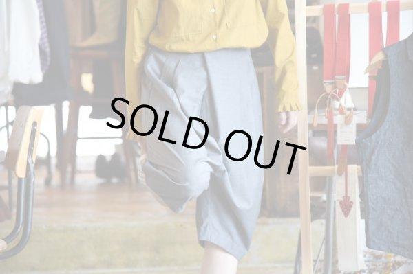 画像1: Kelen(ケレン)  Tuck Sarrouel Trousers ゛Lamia゛   3カラー{Gray、Navy、Black} (1)