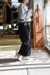 画像2: Kelen   Wide Cocoon Trouser゛Ielo゛     Blackカラー (2)