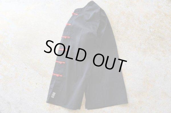 """画像1: OLD ITEM            """"China-button Vest""""               Blackカラー (1)"""