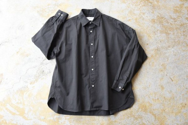 "画像1: UNITUS             ""HANDY  BIG SHIRT""              Blackカラー (1)"