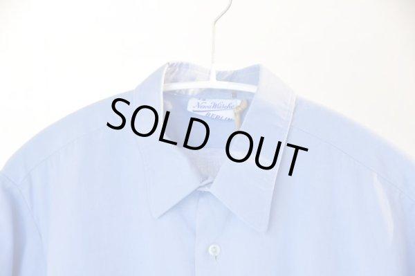 画像1: OLD ITEM        〝Berlin Shirt〝         saxカラー (1)