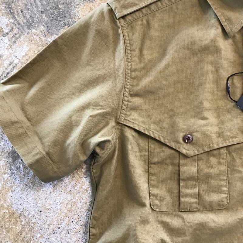 e1e4df587605 画像4  Nigel Cabourn(ナイジェルケーボン) ゛GERMAN SHIRT SS゛ Oliveカラー
